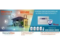 Wireless Intruder-Alarm System (1 year warranty with fitting)-No Monthly Subscriptions