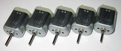 5 X 280 Mabuchi Dc Motor Mini Generator - 12 Vdc - Generate 1 V Per 800 Rpm
