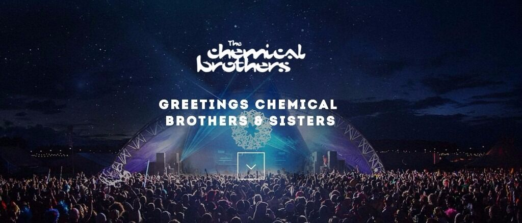 6 x Chemical Brothers standing tickets for SECC 7th Dec