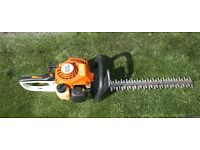 Stihl HS45 petrol hedge trimmer