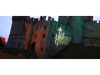 warwick castle - halloween day 31/10/2016 two tickets for sale!!