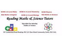 Reading Maths & Science Tutors