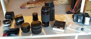 Minolta Camera and Japanese Lens