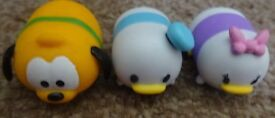 3 Genuine tsum tsum stackables Disney donald duck and daisy duck and Pluto Stack Vinyl £2 the set