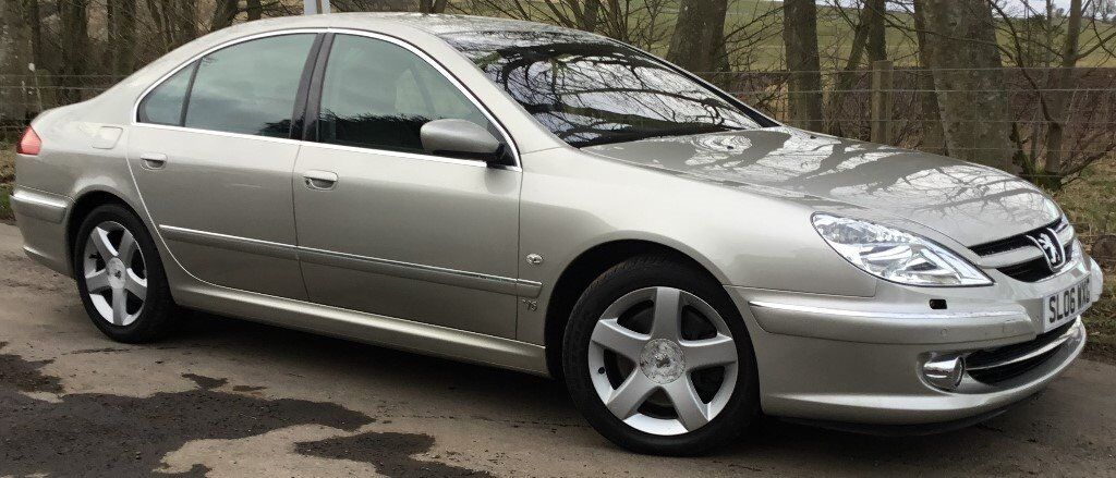 """Peugeot 607 3.0 V6 Executive with """"Porsche Tiptronic System""""***MARCH"""