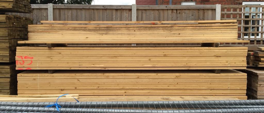 🍄 Wooden Scaffold Style Boards ~ 3.9M