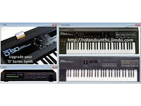 ROLAND D* Synth Upgrade Kits D10 D5 D20 D110 MT32 D50