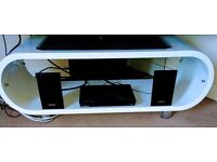 White Designer TV Stand