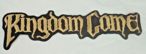 Vintage KINGDOM COME Large Embroidered Patch, Rock and Roll, Heavy Metal Band