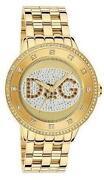 D&G Damenuhr Gold