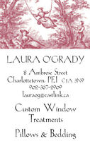 Curtains, Draperies, Custom Window Treatments, Pillows & Bedding