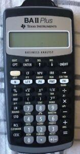 Texas Instruments BA II Plus Financial Calculator $35 firm price