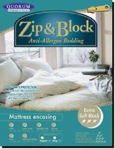 Allergies?  SAVE HUGE on LIke-New Encasing Mattress Cover!!