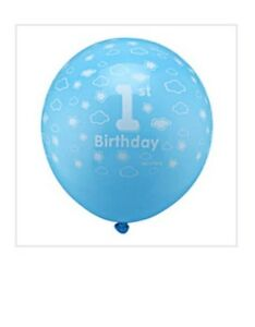 Baby boy 1st birthday ballon