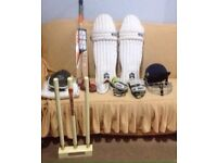 Full kids or teenagers cricket set