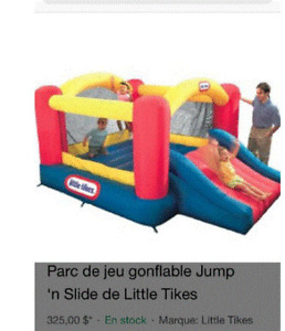 Jeu gonflable Little Tikes