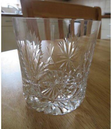 5 X Edinburgh Crystal Star Of Edinburgh Crystal Whiskey Glasses 3