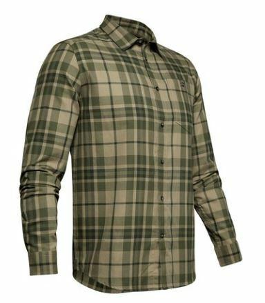 $60 Under Armour UA Tradesman Flannel 2.0 Shirt 1345989-331