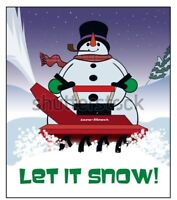 THE SNOWMAN! CALL US FIRST!! 769-9192