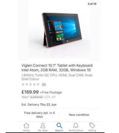 Tablet 10.1 with Windows 10 BRAND NEW & BOXED💥£90💥