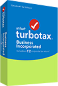 Intuit Canada TurboTax Business Incorporated 2018 T2