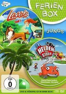 Die Ferienbox für Jungen (Inkl. Lassie DVD & Helden der Stadt CD Hörspiel) (OVP)