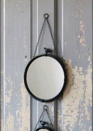 Vintage Round Wall Mirror Ebay