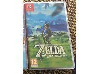 Zelda Breath of the Wild (Switch)