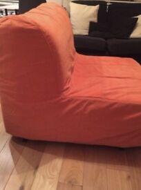 Chair Bed Ikea Lyksele