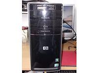 i3 HP MINI DESKTOP 3.20 GHZ QUAD CORE PROCESS, 4 GB PC3 MEMORY, 500GB SATA HARD DRIVE, WI FI.