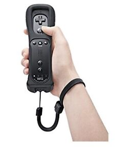 USED Nintendo Wii Black Remote Motion Plus Controller/Skin. $45