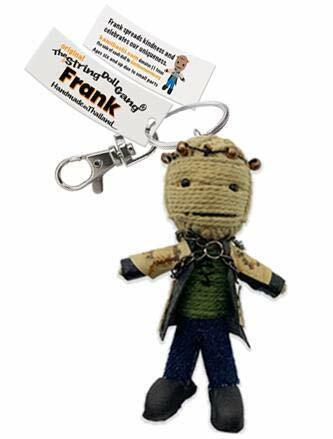 Kamibashi Frank Original String Doll Gang Keychain Clip