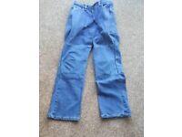 Ladies Kevlar motorcycle jeans size 12