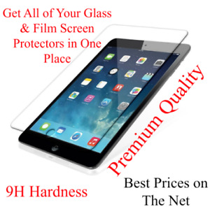 Premium Tempered Glass Screen Protectors for iPhone iPad Samsung