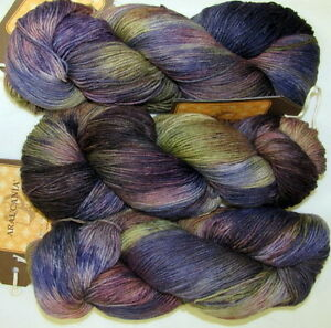 25% OFF! 100g Araucania RANCO MULTY Hand Painted Wool & Nylon Sock Yarn #346