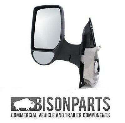 FORD TRANSIT MK6  MK7 COMPLETE WING DOOR MIRROR MANUAL PASSENGERS SIDE TRA348