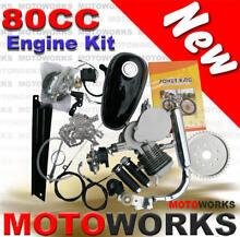 80cc Motorised Bicycle Push Bike 2 Stroke Motor Engine kit Campbellfield Hume Area Preview