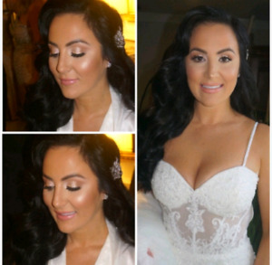 Wedding makeup artist and hairstylist$65up