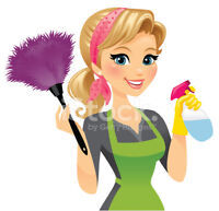 Weekend Residential and Office cleaning available.