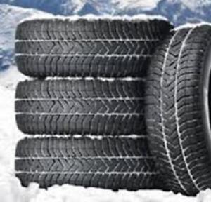 215/70/16 - BFGOODRICH WINTER SLALOM***WITH RIMS / AVEC ROUES***