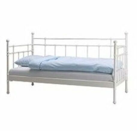 Ikea Svelvik White Steel Day Bed with mattress and underbed | in ...