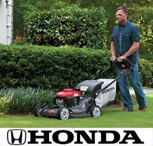 NEW* HONDA 21'' 190CC LAWN MOWER - 120898070 - SELF PROPELLED GAS POWERED MOWERS LANDSCAPING GASOLINE GRASS CUTTER CU...