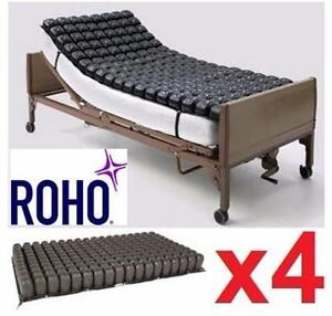 """NEW ROHO MATTRESS OVERLAY   4 SECTIONS - 33.75""""x19.25""""x3.25"""" - HEALTH MEDICAL BED THERAPEUTIC SUPPORT SURFACE 99689548"""