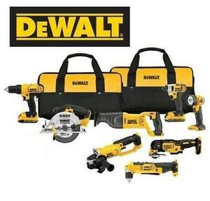 NEW* DEWALT 8-TOOL COMBO KIT DCK940D2 248895726 20 Volt Max Lithium Ion Cordless Combo Kit (8 Tool)