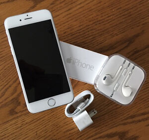 iPhone 6 With headphones and adapter