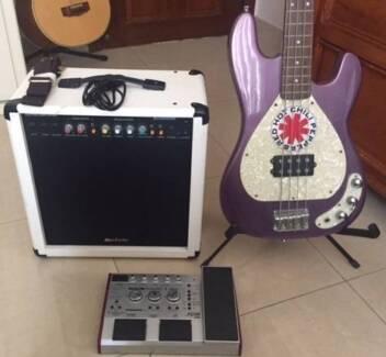 Electric Bass Guitar - Perfect beginner bass! Excellent condition