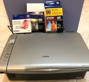EPSON Stylus CX4800 PRINTER + CARTRIDGES