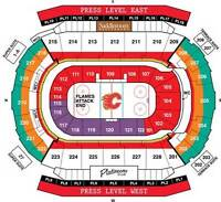 2 Calgary Flames tickets for December games - sec 225 seat 1&2