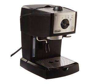 New espresso and cappuccino machine