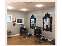 Established Hair, Beauty & Sunbed Salon to rent